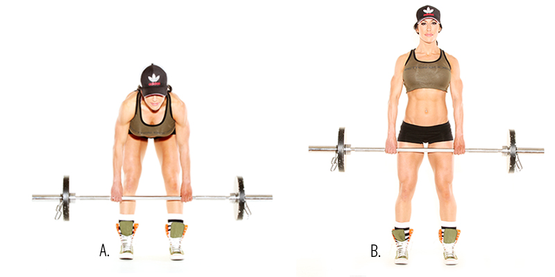 Sculpted Legs in Six W... Deadlifts With Dumbbells