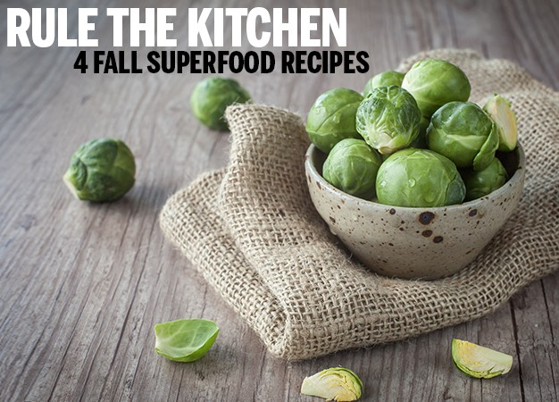 4 Fall Superfood Recipes