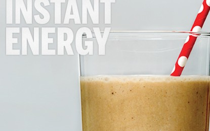 Energizing Chocolate Peanut Butter Smoothie