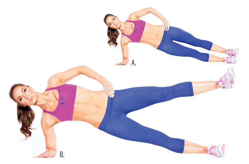 Image result for The Side Plank Lift