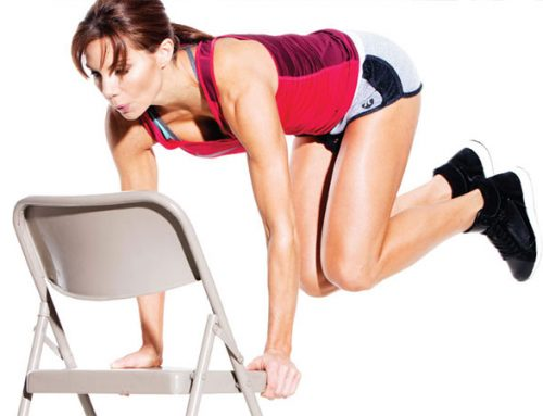 Butt Building Exercises Using Chair