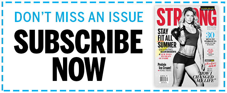 Strong Fitness Magazine Subscription