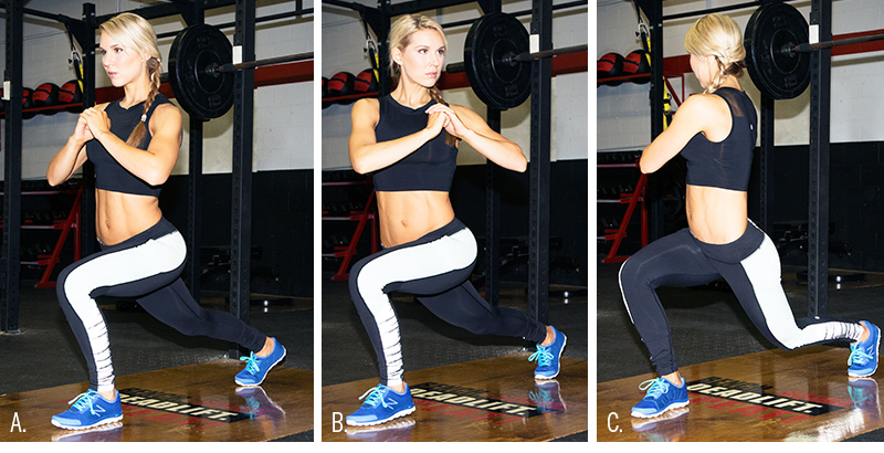 Lunge with Upper Body Rotation