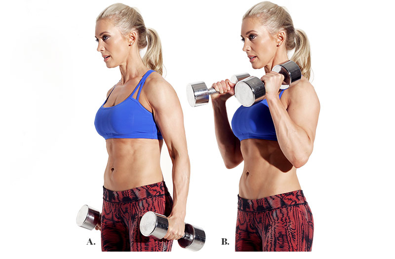 Moves for Strong Shoulders, Arms & Abs - STRONG Fitness ...