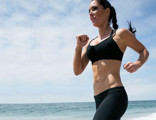 Fat-Burning Beach Workout