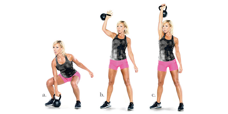 Unilateral KB Snatch