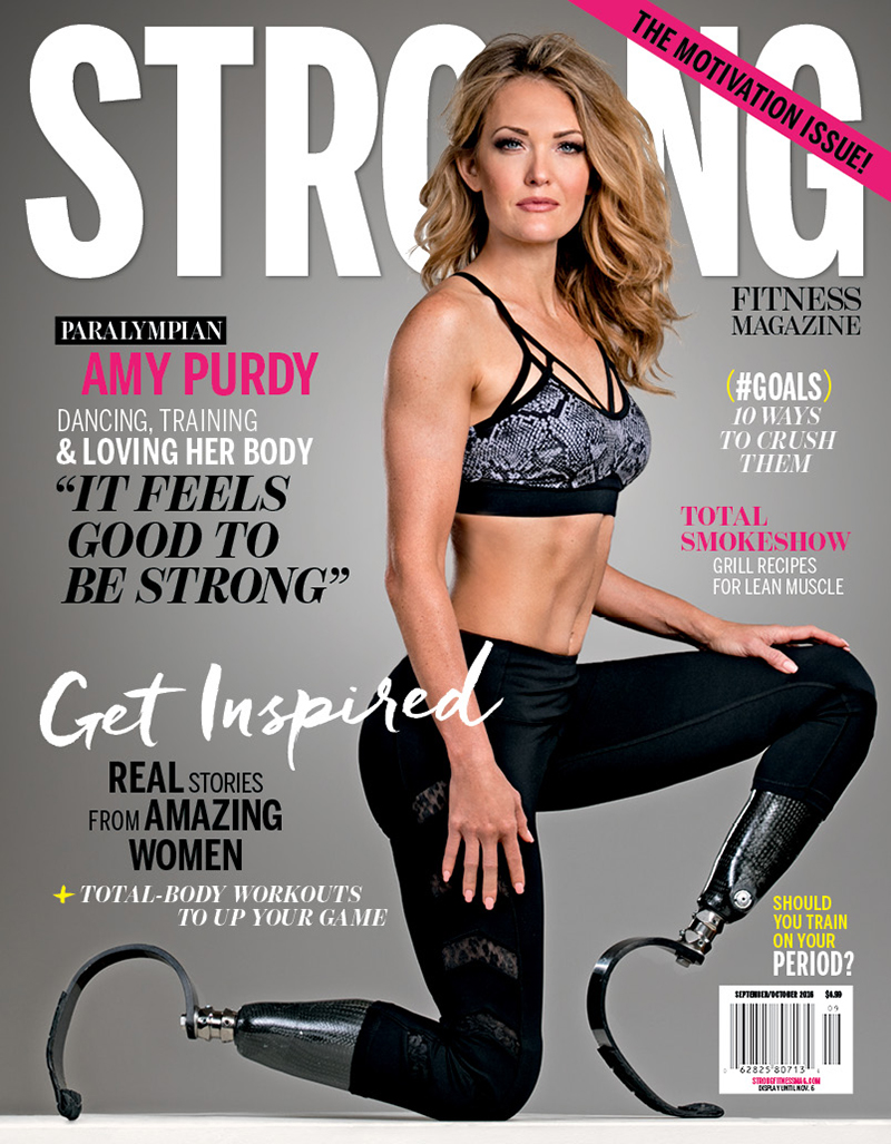 STRONG Fitness Magazine Amy Purdy