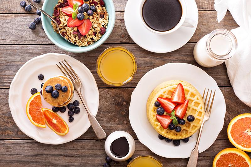 Breakfast by Elena Veselova