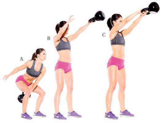 Fat Burning Kettlebell Workout
