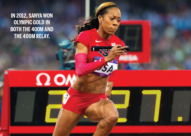 Sanya Richards Ross
