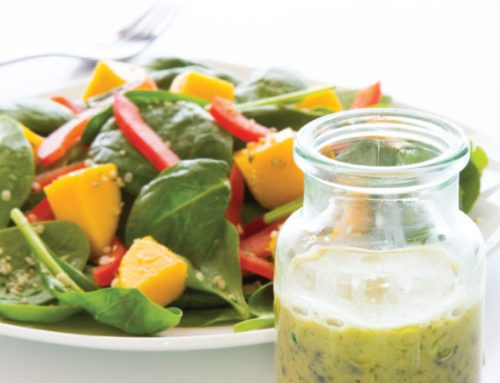 Summer Salad with Passionfruit Dressing