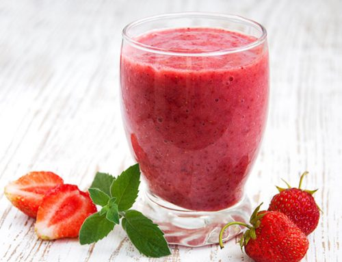 Virgin Strawberry Daiquiri Smoothie