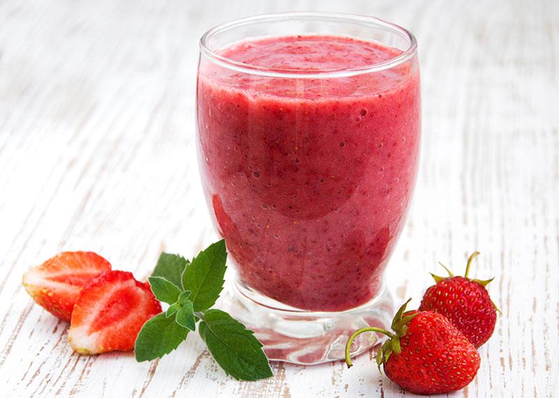 Virgin Strawberry Daiquiri Smoothie