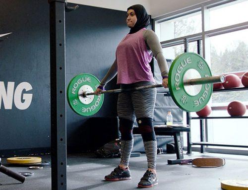 Amna Al Haddad is Raising the Bar