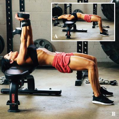 3day strength building training program for women's fitness