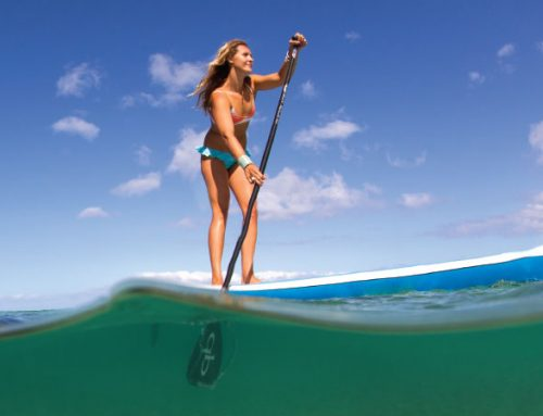 5 Ways Stand-Up Paddling Improves Your Physique
