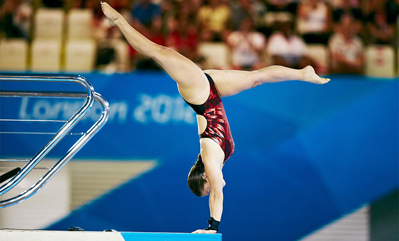 Roseline Filion by John Huet / IOC
