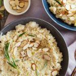 Barley, Cauliflower & Almond Risotto