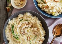Barley, Cauliflower & Almond Risotto