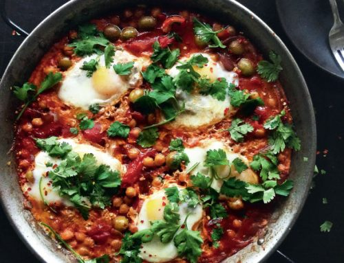 "Baked Egg ""Breakfast Paella"""