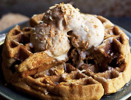 Grain-Free Cinnamon Waffles