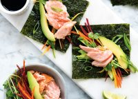 Nori-Salmon-Wraps