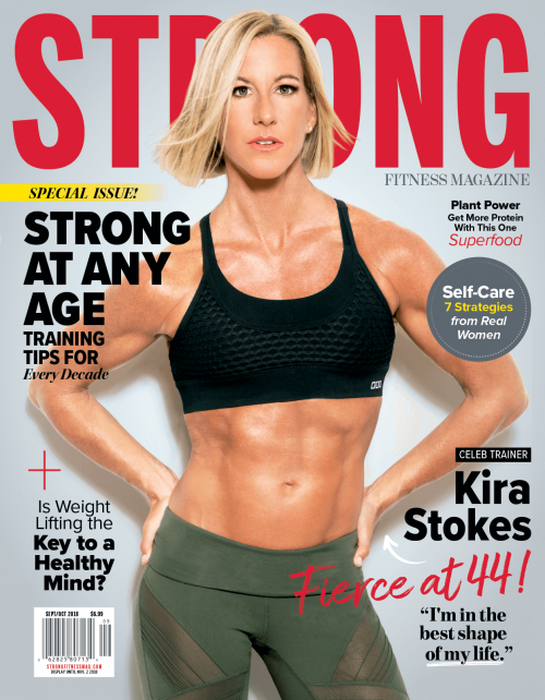 Strong Fitness Magazine For Women Who Live To Be Fit
