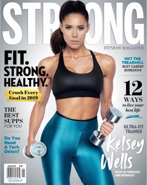 STRONG Fitness Magazine ® For women who live to be fit